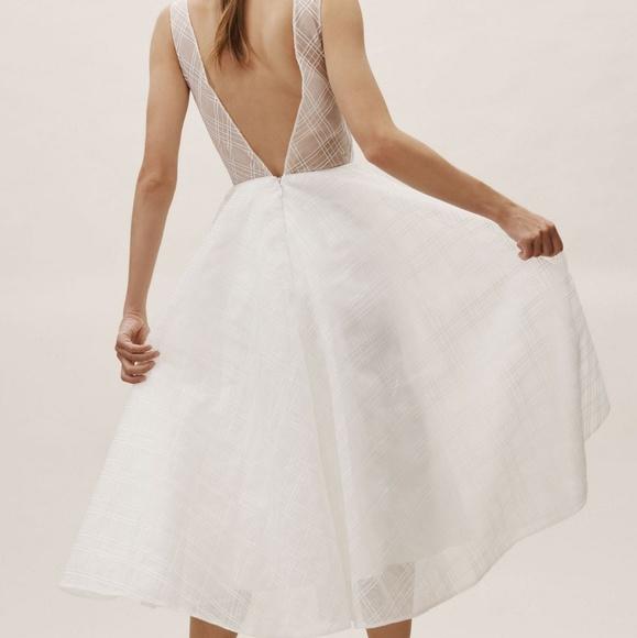 144549a851 Anthropology bhldn shep white wedding dress 2